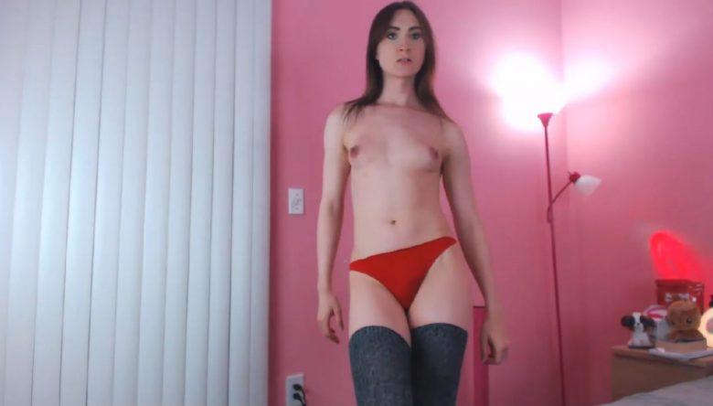JessicaFappit Is Ravishing In Red Panties