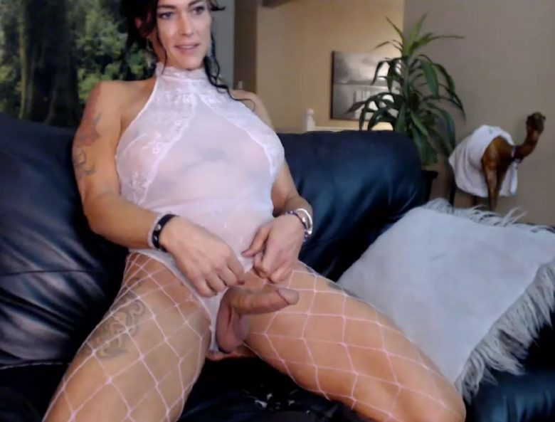 TSRiannaJames Is Sinful In White